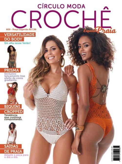 Revista Círculo Crochê Especial Praia  - Bastex Artesanatos