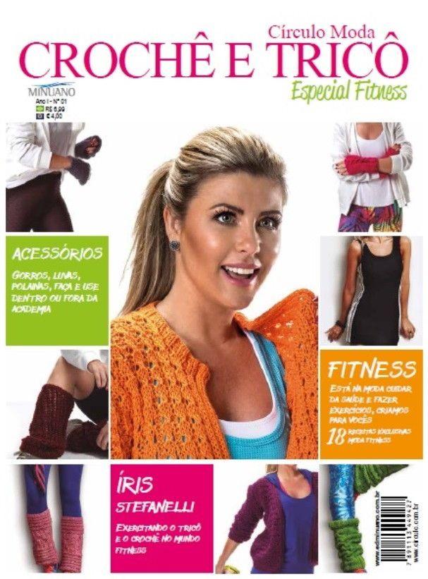 Revista Círculo Especial Fitness N° 1  - Bastex Artesanatos