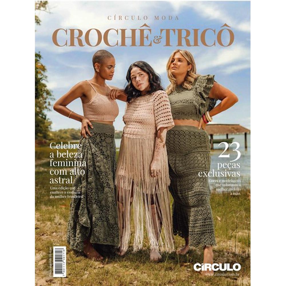 Revista Círculo Moda Crochê e Tricô  N°01