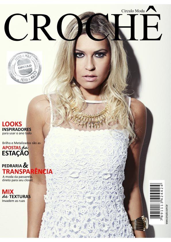 Revista Círculo Moda Crochê N° 7  - Bastex Artesanatos