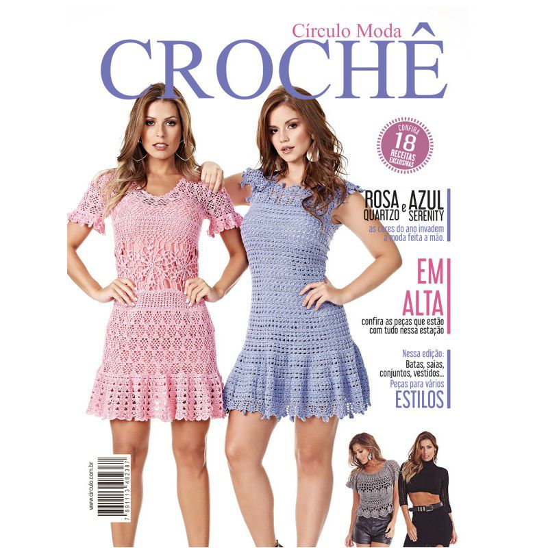Revista Círculo Moda Crochê N° 6