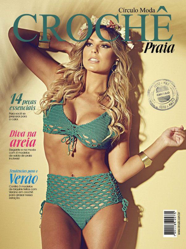 Revista Círculo Moda Crochê Praia N° 2  - Bastex Artesanatos