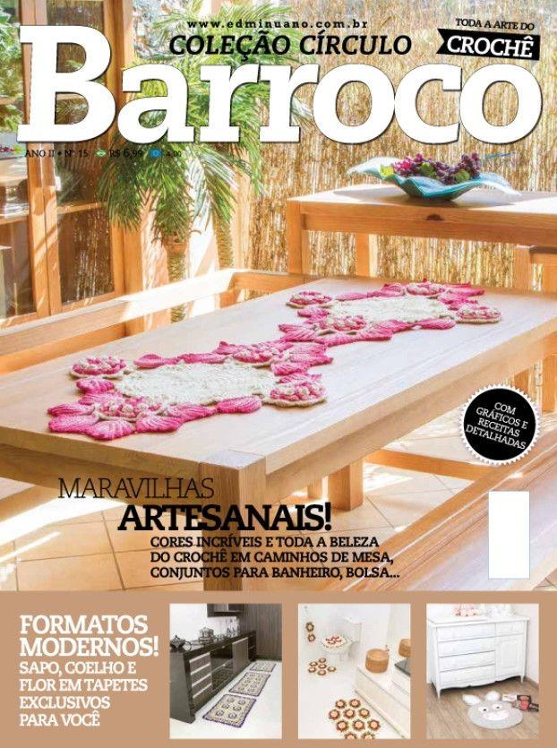 Revista Coleção Circulo Barroco N° 15  - Bastex Artesanatos
