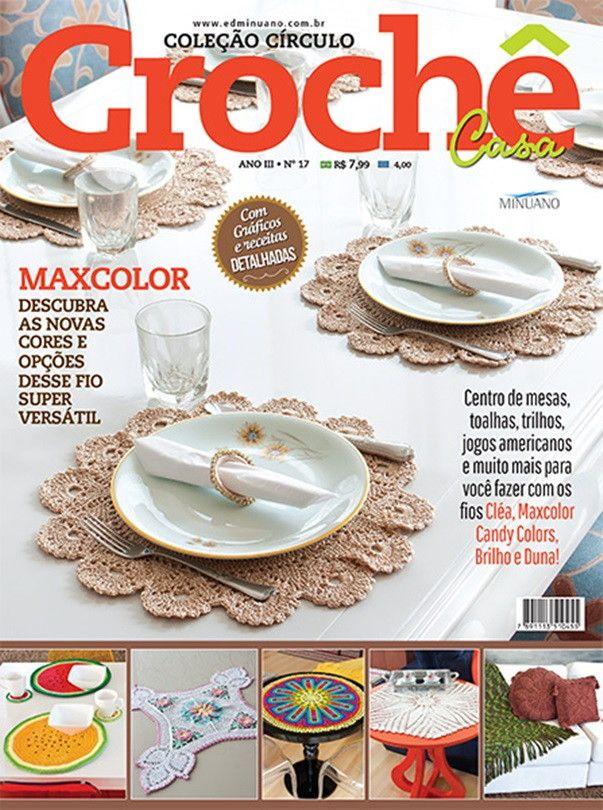 Revista Coleção Círculo Crochê Casa