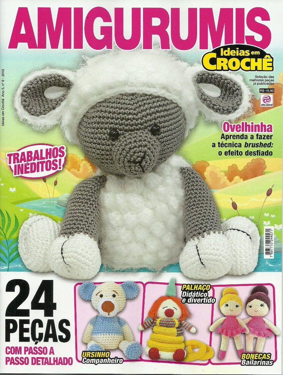 Revista Idéias em Crochê Amigurumis  - Bastex Artesanatos
