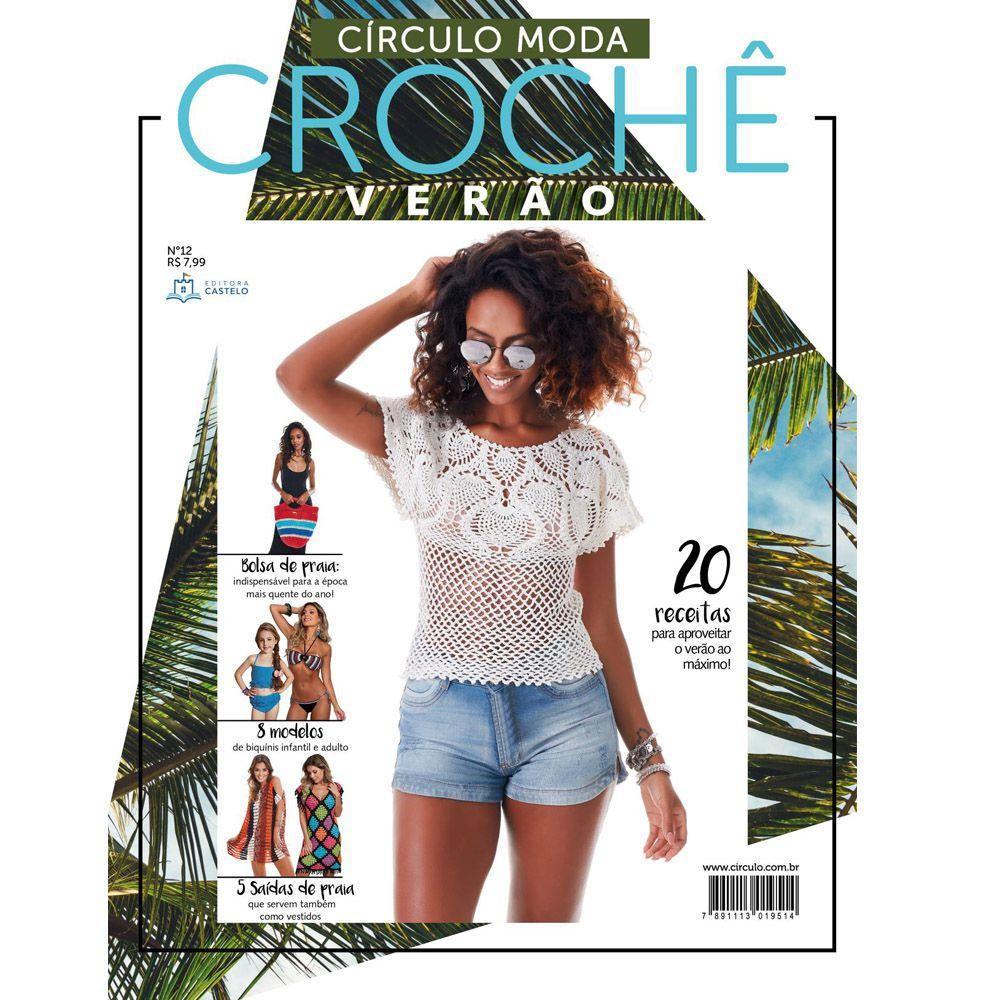 Revista Moda Crochê Especial Verão N° 12
