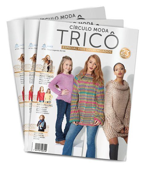 Revista Moda Tricô Círculo N° 5
