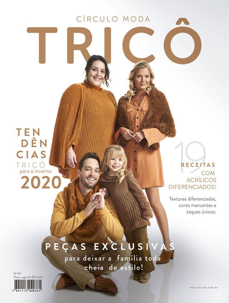 Revista Moda Tricô Círculo N°9