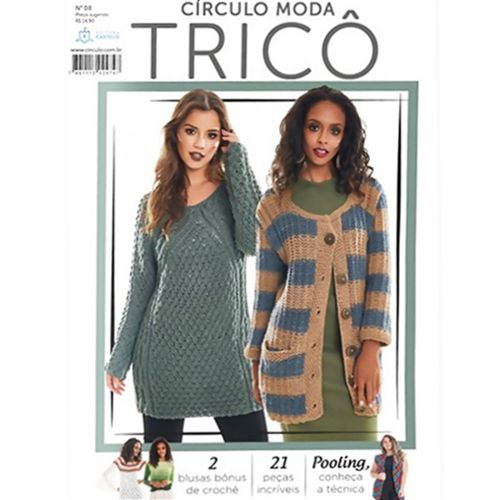 Revista Moda Tricô Círculo N° 8