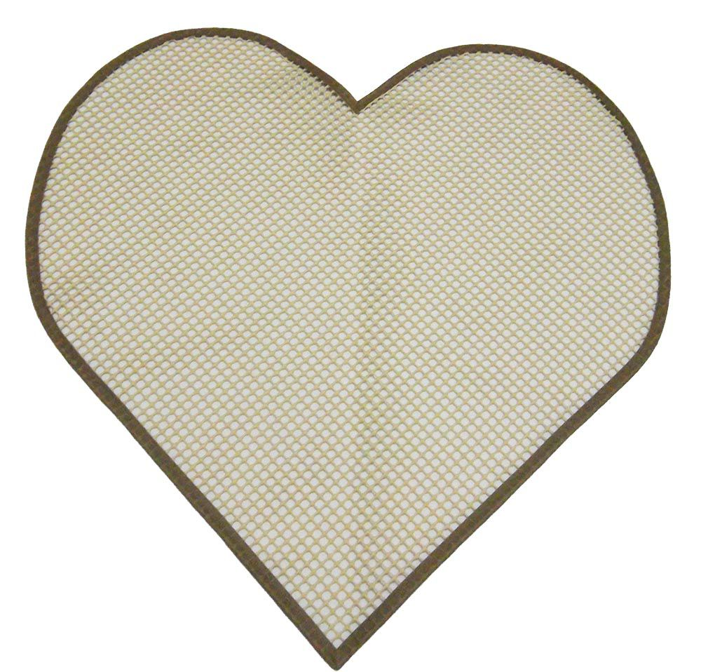 Tela Antiderrapante para Amarradinho Coração