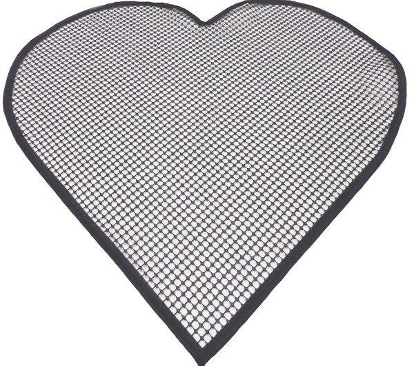 Tela Antiderrapante para Amarradinho Coração 84x90cm