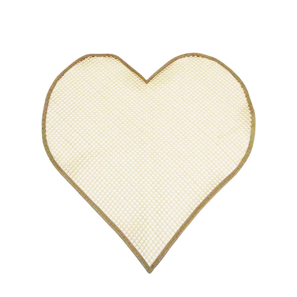 Tela Antiderrapante para Amarradinho Coração Cru