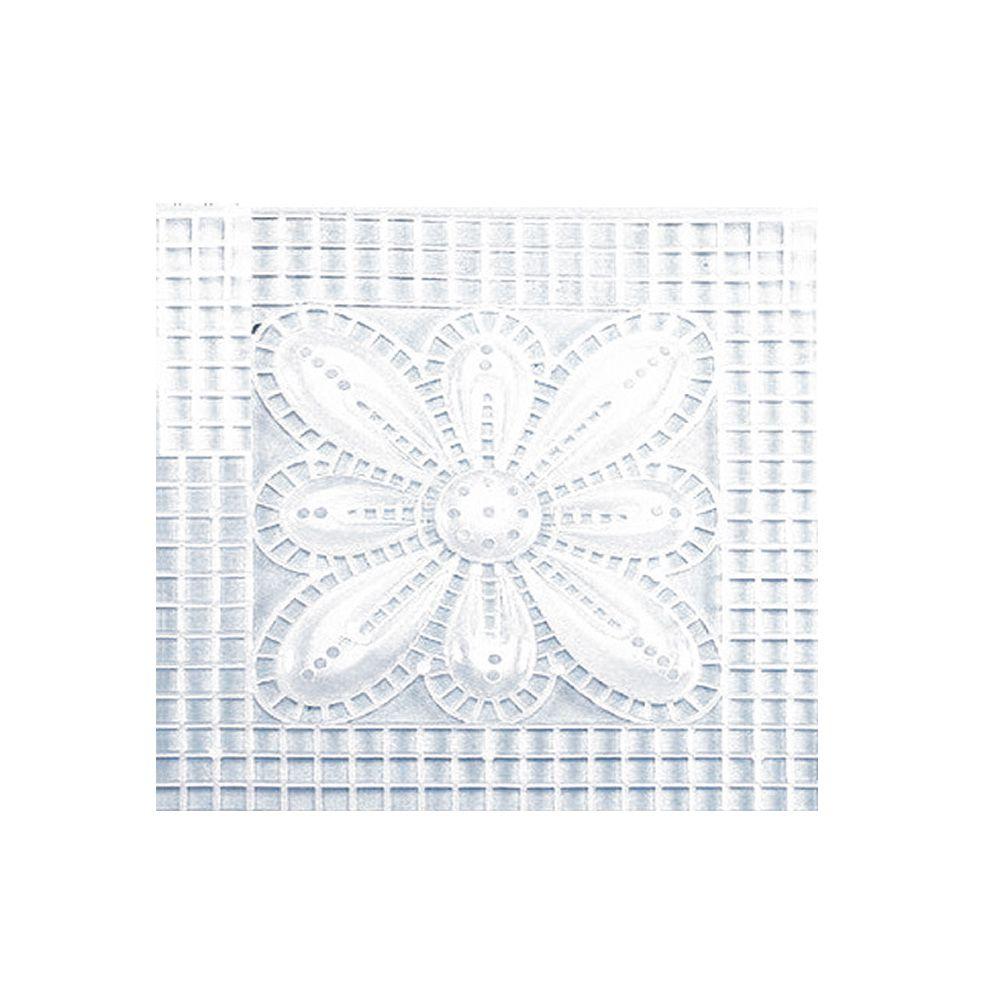 Tela Plástica para Bolsa Flor 15x15cm