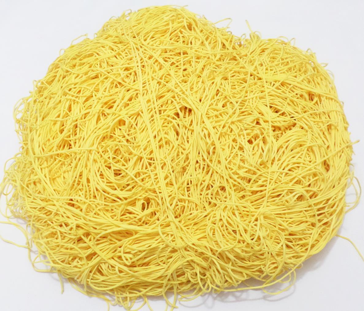 Tira de Macarrão/Espaguete 1.110g Amarelo