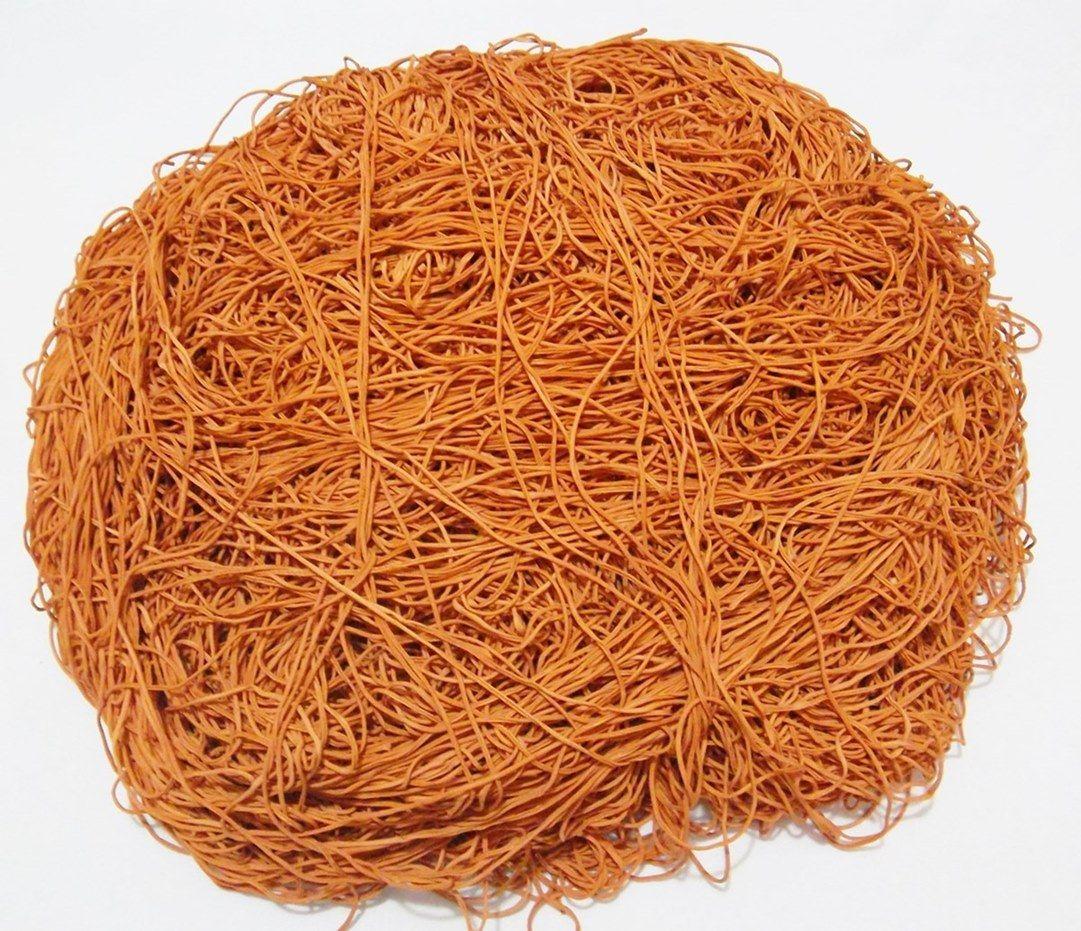 Tira de Macarrão/Espaguete 1.120g Telha  - Bastex Artesanatos
