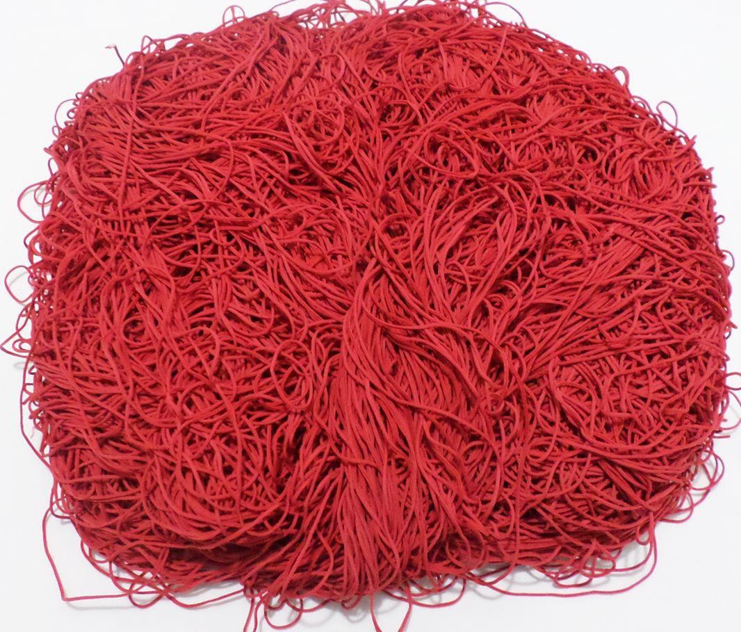 Tira de Macarrão/Espaguete 1.130g Vermelho  - Bastex Artesanatos