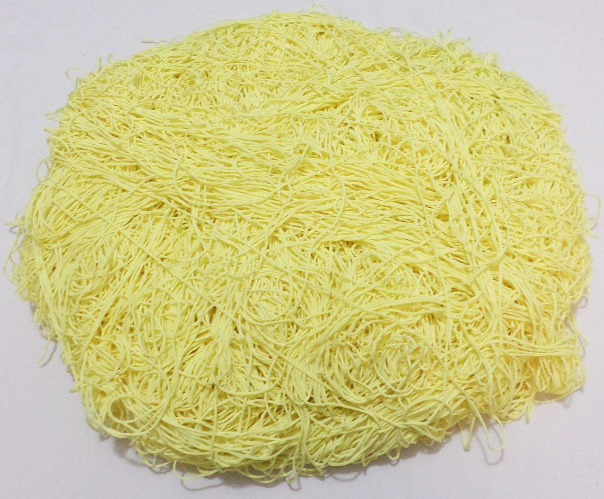 Tira de Macarrão/Espaguete 1.140g Amarelo