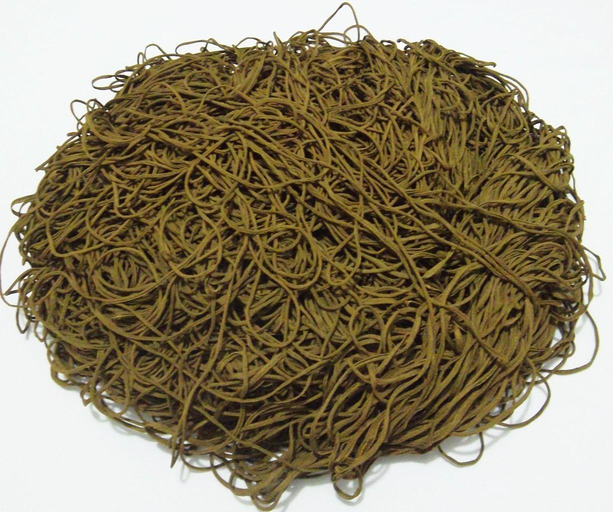 Tira de Macarrão/Espaguete 1.140g Verde Musgo  - Bastex Artesanatos