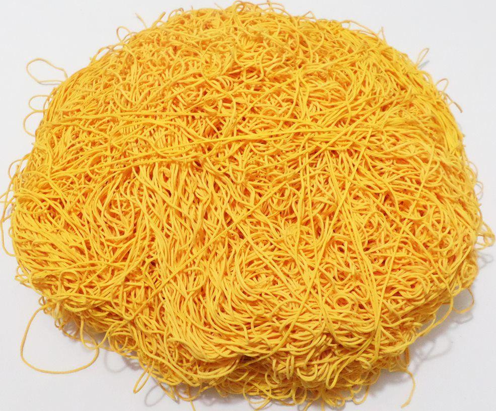 Tira de Macarrão/Espaguete 1.200g Amarelo Ouro