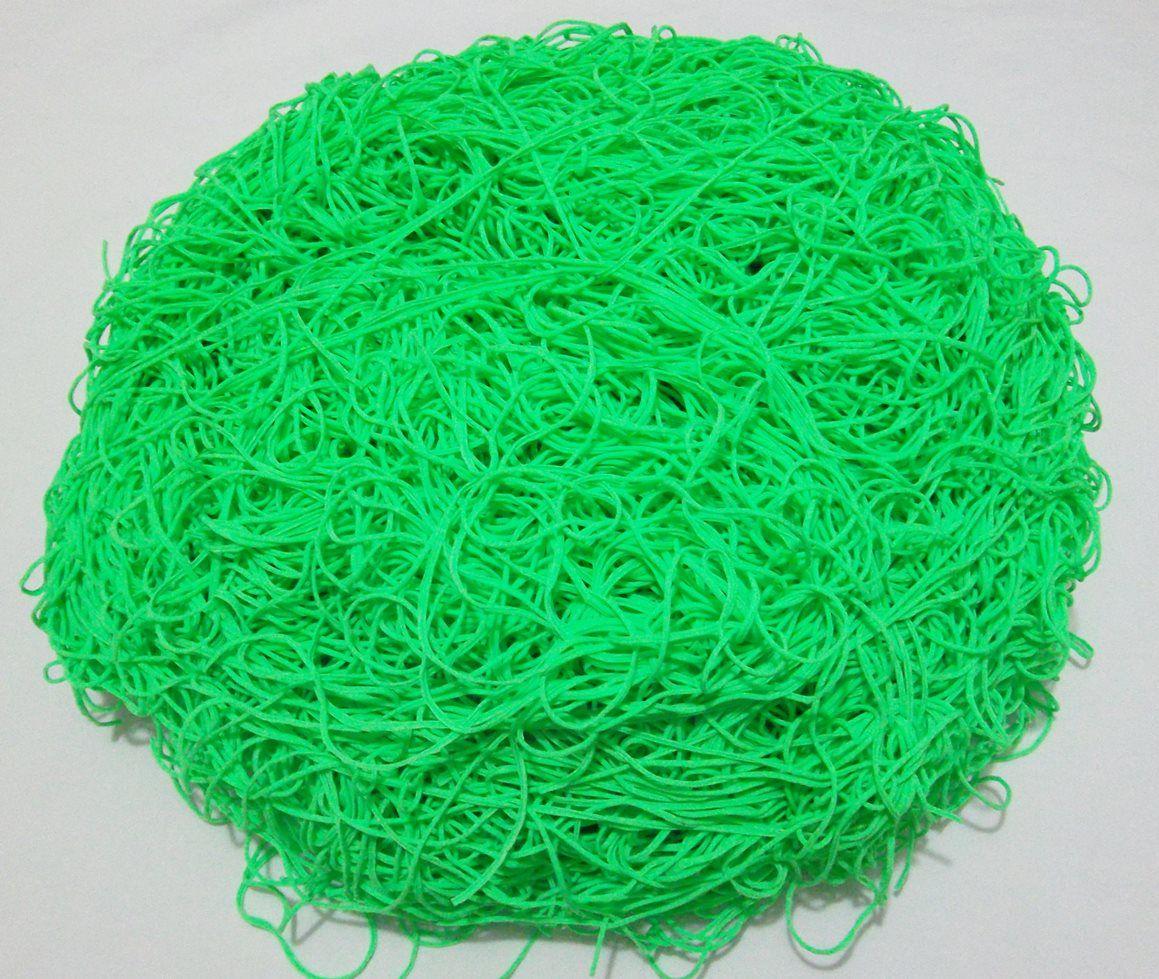 Tira de Macarrão/Espaguete 1.220g Verde  - Bastex Artesanatos