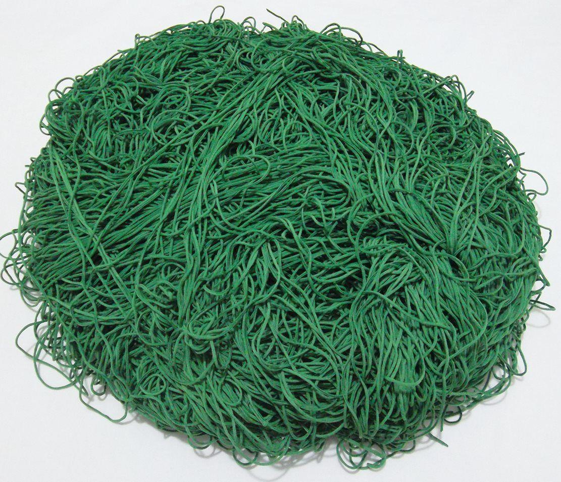Tira de Macarrão/Espaguete 1.260g Verde  - Bastex Artesanatos