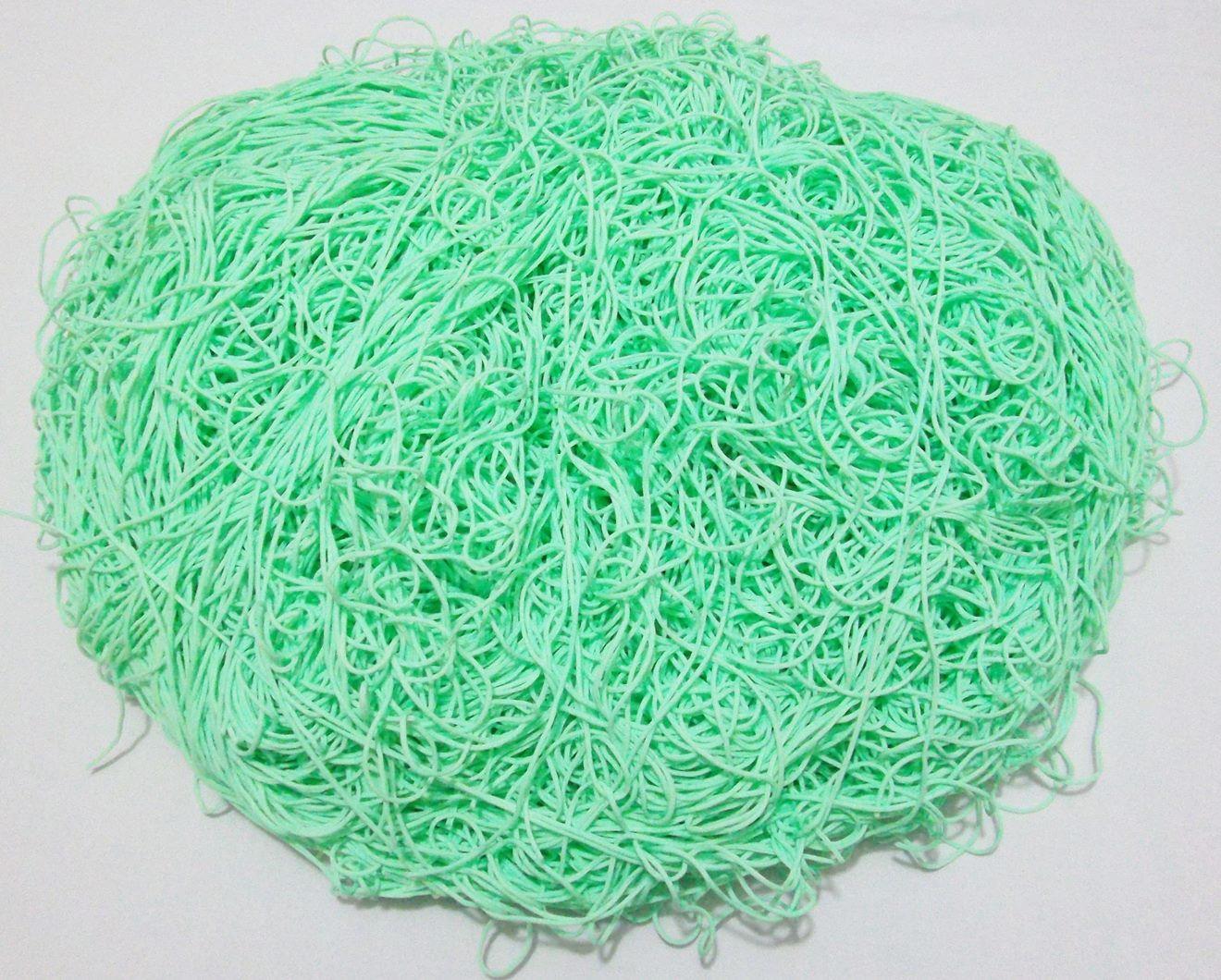 Tira de Macarrão/Espaguete 1.260g Verde Claro  - Bastex Artesanatos