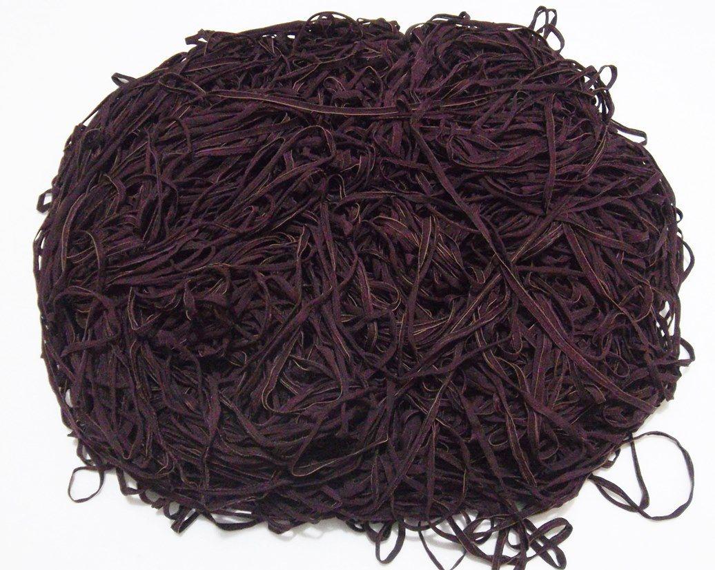 Tira de Macarrão/Espaguete 1.360g Vinho Escuro  - Bastex Artesanatos