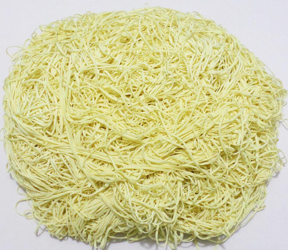 Tira de Macarrão/Espaguete 1.430g Amarelo Claro