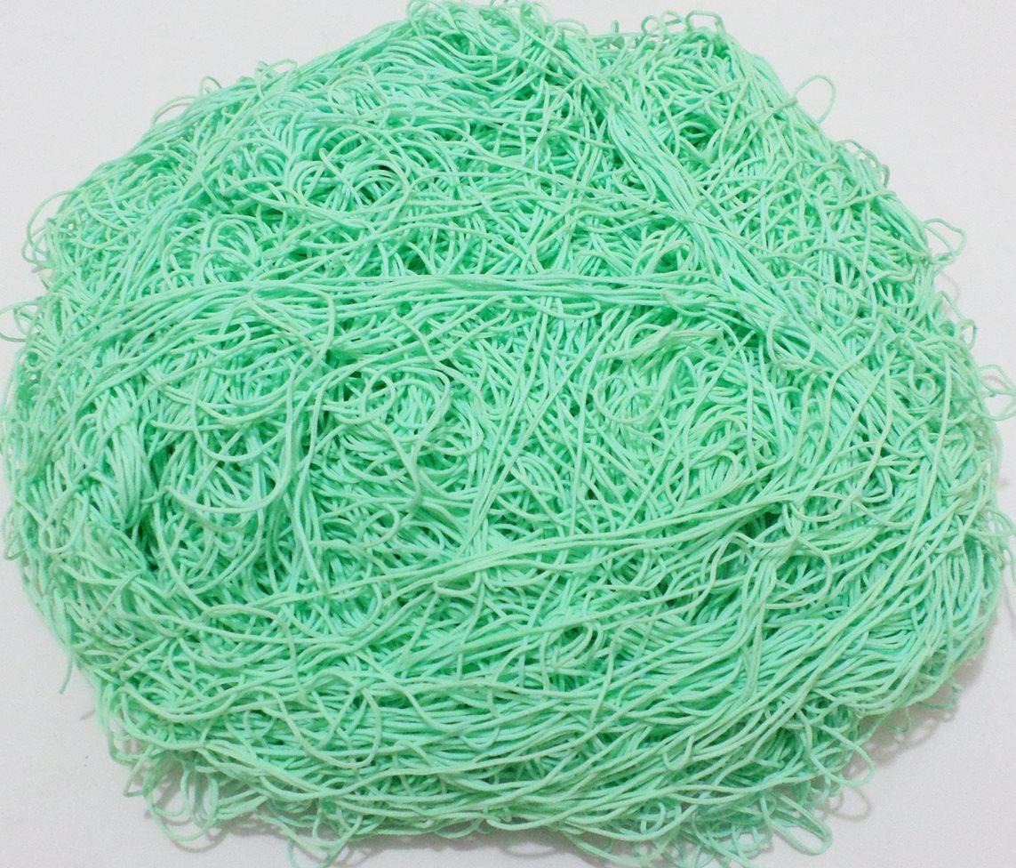 Tira de Macarrão/Espaguete 1.800g Verde Claro  - Bastex Artesanatos