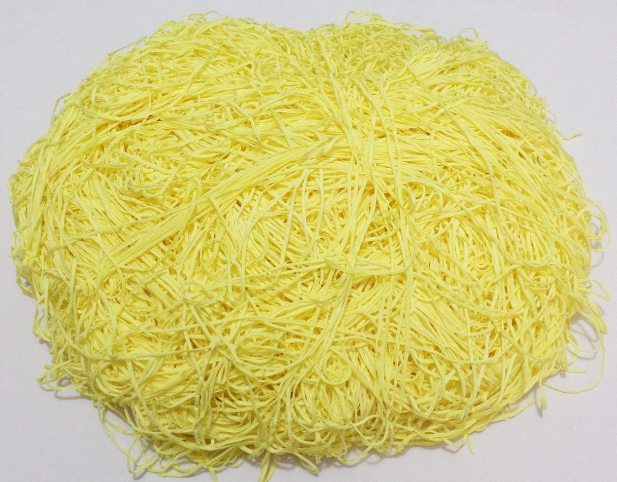 Tira de Macarrão/Espaguete 1.860g Amarelo Claro