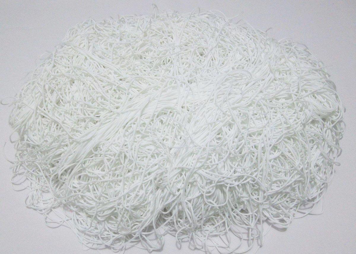 Tira de Macarrão/Espaguete 1kg Branco Off White