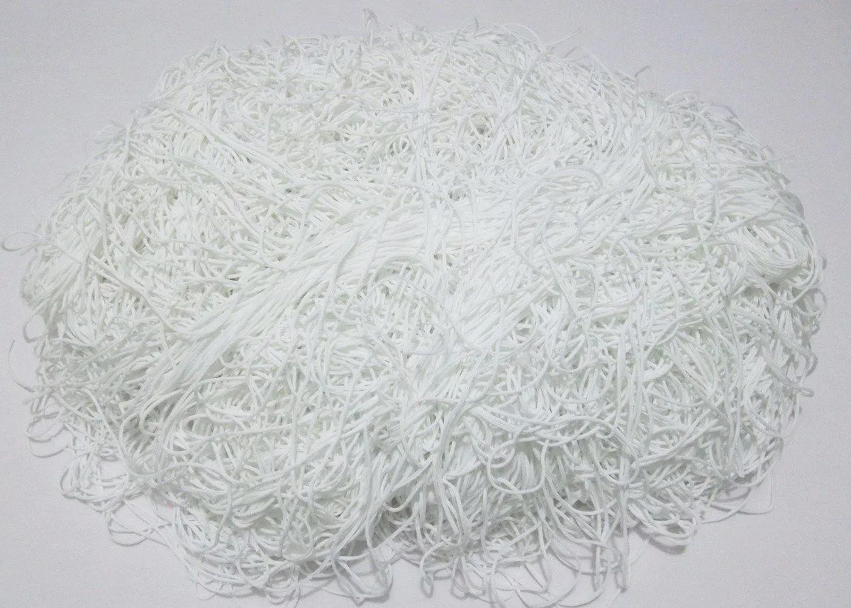 Tira de Macarrão/Espaguete 500g Branco Off White