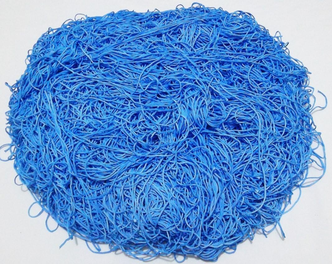 Tira de Macarrão/Espaguete 840g Azul  - Bastex Artesanatos
