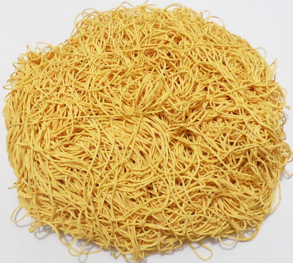 Tira de Macarrão/Espaguete 860g Amarelo