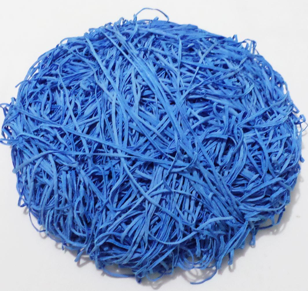 Tira de Macarrão/Espaguete 880g Azul  - Bastex Artesanatos