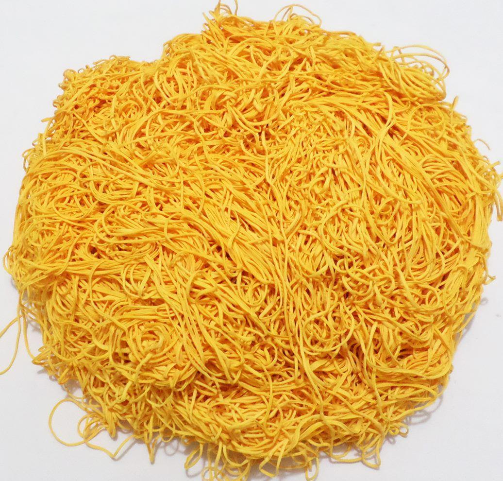 Tira de Macarrão/Espaguete 930g Amarelo Ouro