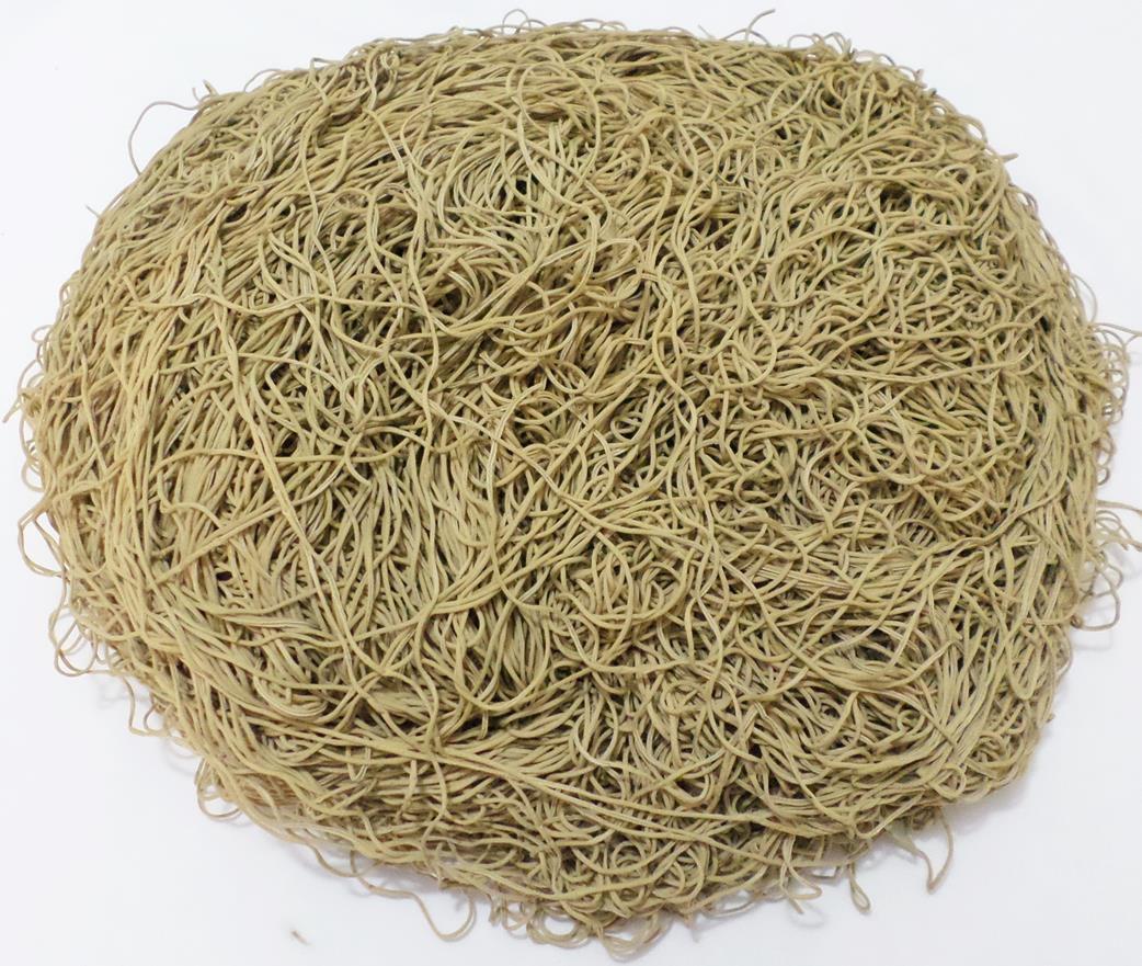 Tira de Macarrão/Espaguete 960g Bege Escuro