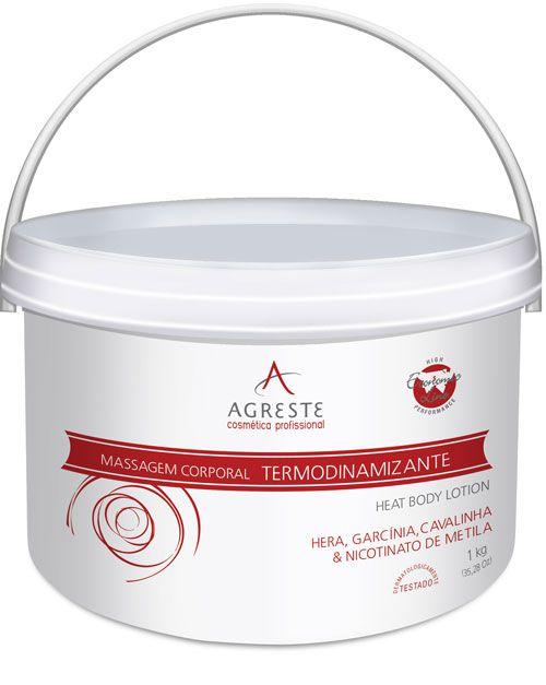 Creme para Massagem Termodinamizante AMISTAD - 1,2 Kg  - Agreste Brasil - Cosmética Profissional