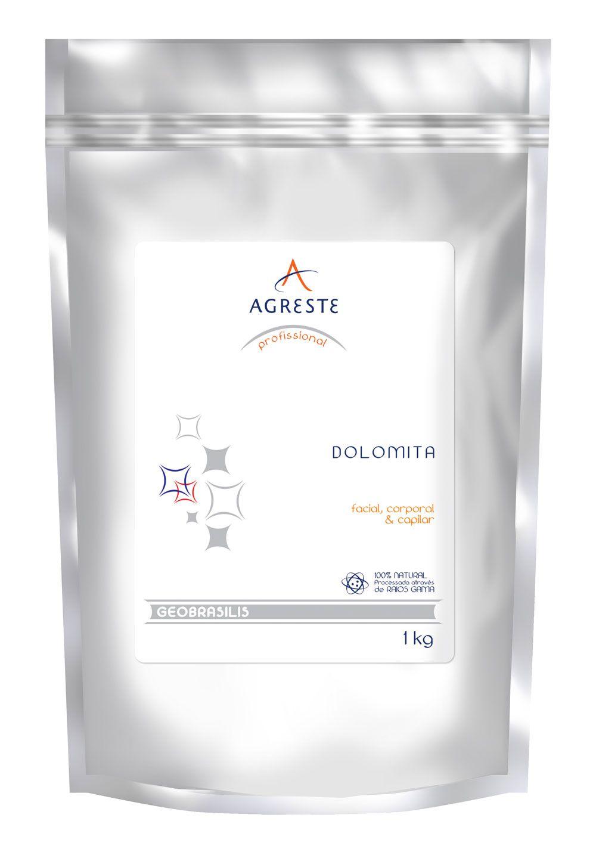 Dolomita Agreste - 1 kg  - Agreste Brasil - Cosmética Profissional