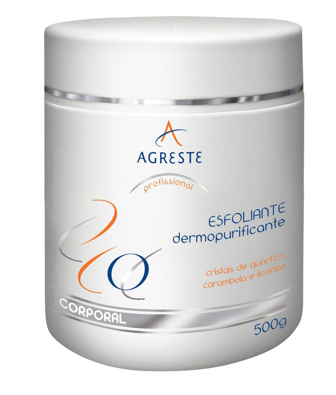 Esfoliante Dermopurificante - 500g  - Agreste Brasil - Cosmética Profissional