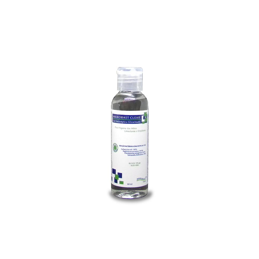 Gel Antisséptico Glicerinado Agreste - 60ML  - Agreste Brasil - Cosmética Profissional