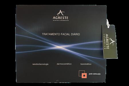 Kit Cuidado Facial - Pele Delicada  - Agreste Brasil - Cosmética Profissional