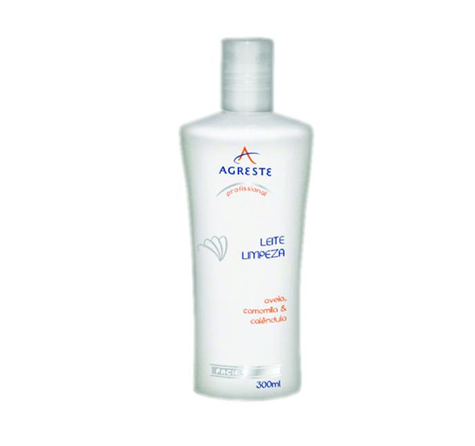 Leite de Limpeza - 300 ml  - Agreste Brasil - Cosmética Profissional
