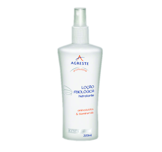 Loção Fisiológica Hidratante - 300 ml  - Agreste Brasil - Cosmética Profissional