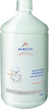 Óleo Corporal Semente de Uva Sem Perfume - 1L  - Agreste Brasil - Cosmética Profissional