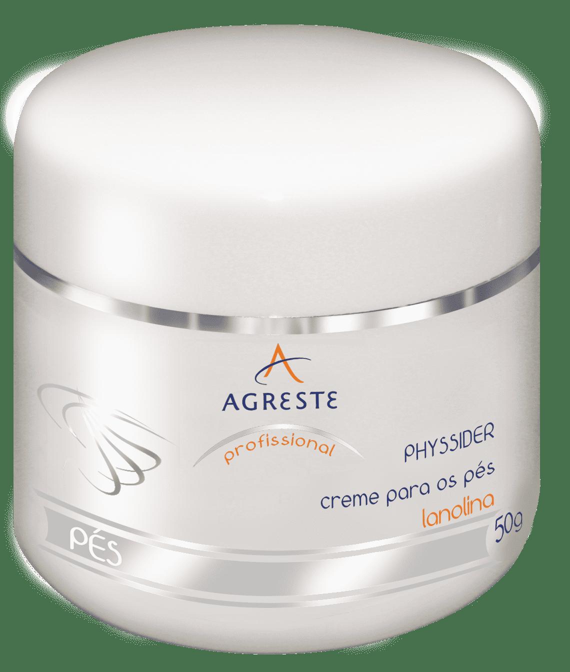 Physsider Creme para os Pés - 50 g  - Agreste Brasil - Cosmética Profissional