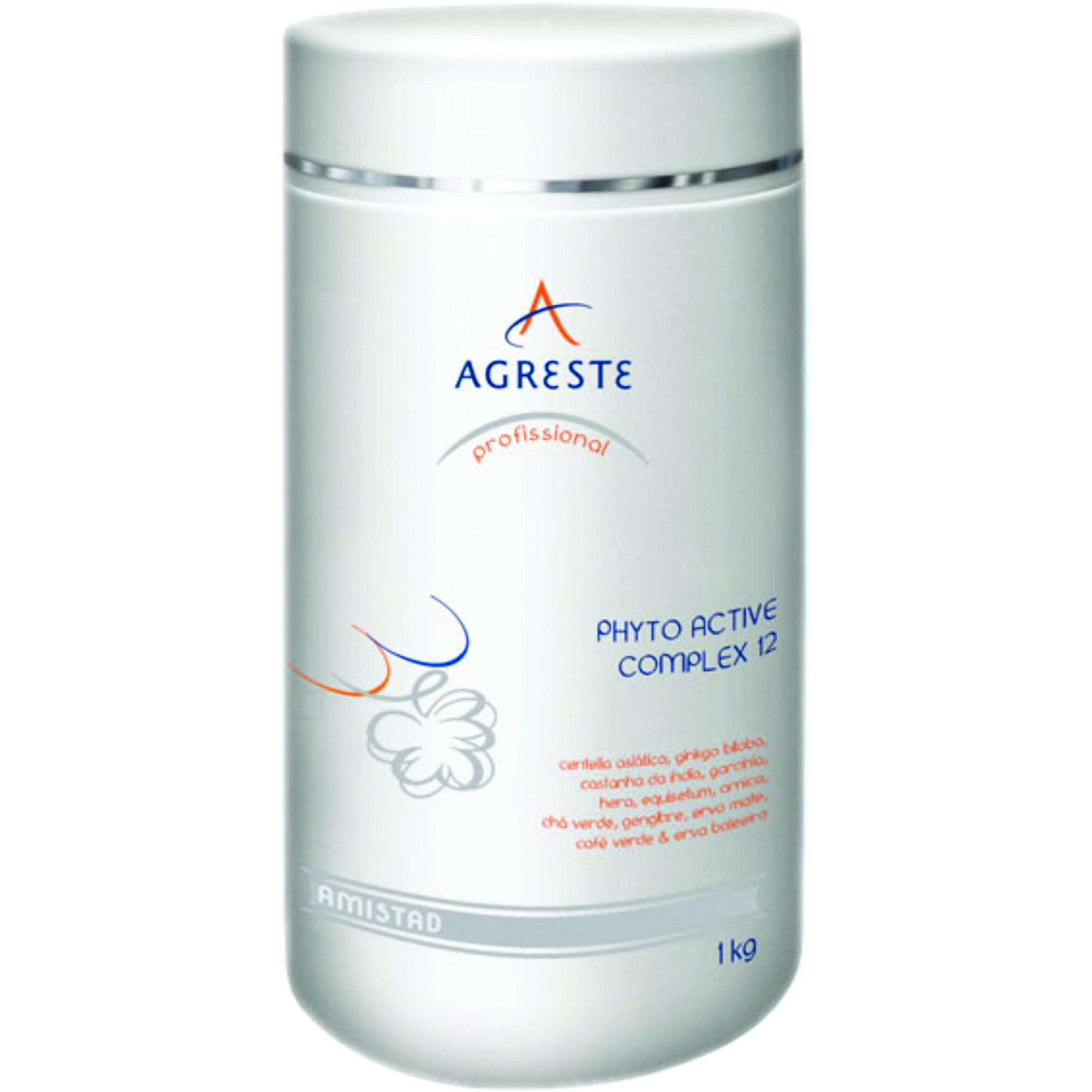Phyto Active Complex 12 Ativos AMISTAD - 1 kg  - Agreste Brasil - Cosmética Profissional