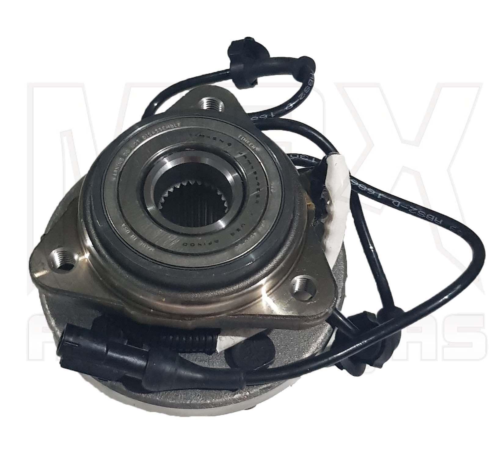 Cubo Rolamento da Roda do Eixo Dianteiro (Com ABS) Ranger 2000 2001 à 2012 Original