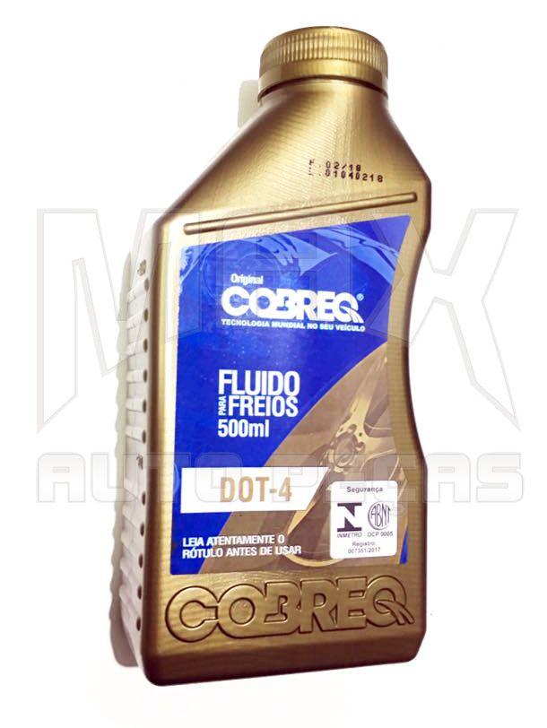 Fluido de Freio DOT4 500ml COBREQ