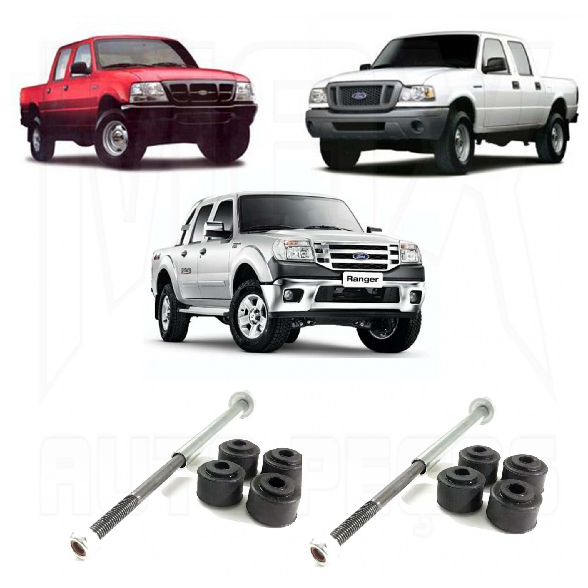 Kit Bieleta Dianteira Ranger 4x4 1997 1998 1999 2000 2001 2002 à 2012